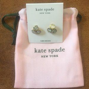 NWT Kate Spade Cubic Zirconia earrings